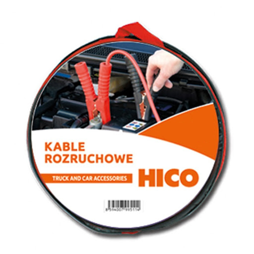 KABLE ROZRUCHOWE HICO 600A 6M